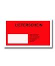 Lieferschein/Packing List<br/>mit Fenster<br/> 162 x 133 mm (C6)