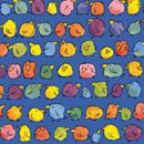 Piepmatz blau<br/>30 cm x 250 m