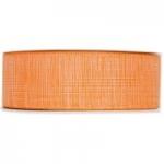 Geschenkband<br/>Baumwoll-Optik<br/>40 mm x 25 m<br/>Hellorange