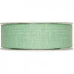 Geschenkband<br/>Baumwoll-Optik<br/>40 mm x 25 m<br/>Mint