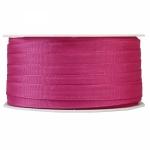 Geschenkband Uni<br/>50 m x 8 mm<br/><b>Pink</b>