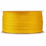 Geschenkband Uni<br/>50 m x 8 mm<br/><b>Gelb</b>