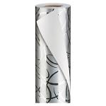 <b>Calligraphe silber</b><br/>B 70 cm x L 50 m, 80 g/m²<br/>Rollen-Ø 7,5 cm<br/>Rollenkern-Ø 3,2 cm