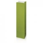 1er Grün Flaschenbeutel<br/>aus Kraftpapier<br/>Wein/Sekt<br/>100 x 80 x 410 mm