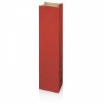 1er Rot Flaschenbeutel<br/>aus Kraftpapier<br/>Wein/Sekt<br/>100 x 80 x 410 mm