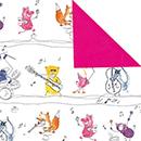 Jazz pink<br/>30 cm x 250 m