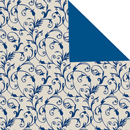 Classico elfenbein-graublau<br/>30 cm x 200 m