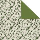 Classico elfenbein-grün<br/>30 cm x 200 m