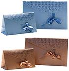 Chrystal Papiertragetasche<br/>150 x 60 x 90 mm<br/>hellblau