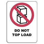 Do not top load<br/>38 x 51 mm