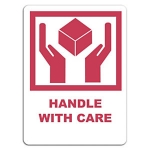 Handle with care, rot<br/>38 x 51 mm