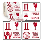 Fragile<br/>Handle with care<br/>50 x 50 mm