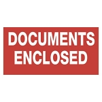 Documents enclosed<br/>60 x 30 mm