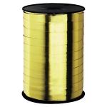 Geschenkband Hochglänzend<br/>250 m x 10 mm<br/>Farbe: <b>gold</b>
