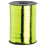 Geschenkband Hochglänzend<br/>250 m x 10 mm <br/>Farbe: <b>grün</b>