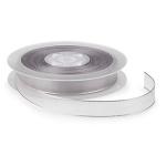 Organza Effekt<br/>25 m x 16 mm<br/>Silber