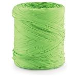 Geschenkband Bast-Effekt<br/>200 m x 15 mm<br/>Fb. hellgrün