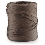 Geschenkband Bast-Effekt<br/>200 m x 15 mm<br/>Fb. Schokolade