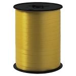 Geschenkband Standard<br/>500 m x 7 mm<br/>Farbe: <b>gold</b>