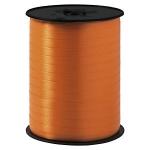 Geschenkband Standard<br/>500 m x 7 mm<br/>Farbe: <b>orange</b>