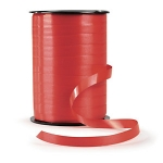 Geschenkband Standard<br/>500 m x 7 mm<br/>Farbe: <b>rot</b>