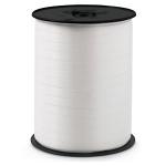 Geschenkband Standard<br/>500 m x 7 mm<br/>Farbe: <b>weiß</b>