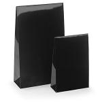 Lackpapier-Beutel<br/>100 x 40 x 157 mm<br/>schwarz