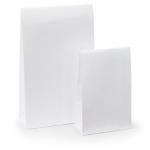 Lackpapier-Beutel<br/>100 x 40 x 157 mm<br/>weiss