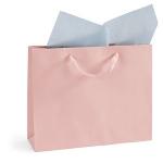 Lackpapier-Tragetasche<br/>400 x 120 x 320 mm<br/>rosa