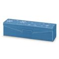 Modern blau Metallic Schneeflocken
