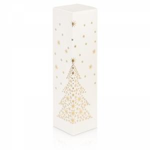 Seta Bianco Sternenbaum<br/>Strukturgeprägt - innen weiß