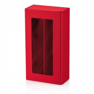 Passepartout Modern Rot<br/>Offene Welle - innen rot