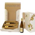 Flaschenkarton Weindekor