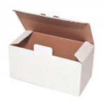 Kartons, weiß mit Automatikboden