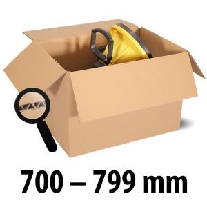 1-wellige Kartons, braun<br/>Kartonlängen von 700 mm - 799 mm
