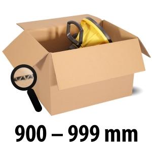 1-wellige Kartons, braun<br/>Kartonlängen von 900 mm - 999 mm