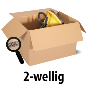 TOP-Angebote / Restposten - Wellpapp-Faltkartons, 2-wellig, braun