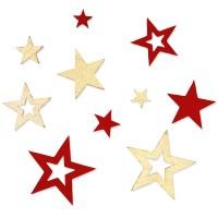 Filzsortiment Sterne