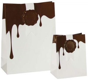 Chocolate Dip Bag Papiertasche