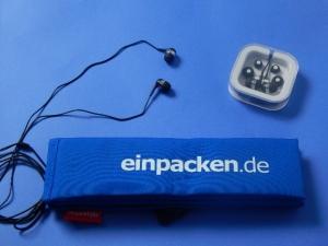 IN-EAR-Kopfhörer, schwarz<br/>Ihr Gratisgeschenk