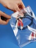 Druckverschlussbeutel 60 µ, transparent