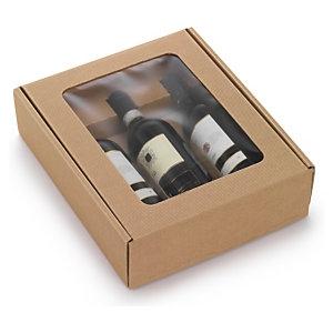 Flaschenverpackungen Natur<br/>braune Mirowelle