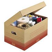 Braune Klappdeckel-Archivboxen Standard