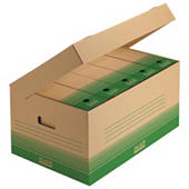 Archivboxen recycelt