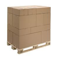 Palettierfähige Modulkartons, 2-wellig