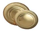 Tablett gold glänzend