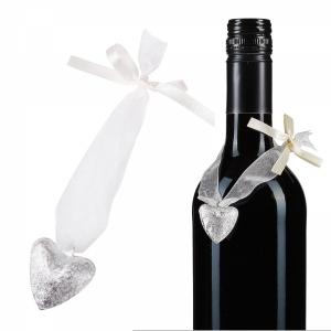 Edle Flaschenanhänger<br/>mit Glöckchen
