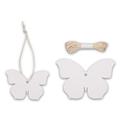 Papieranhänger Schmetterling