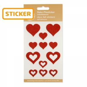 Filz-Sticker, sortiert