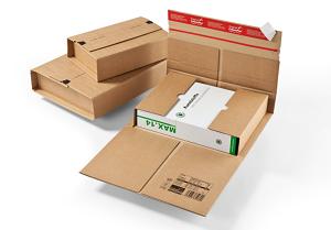 Starke Universal-Versandverpackung,<br/>braun